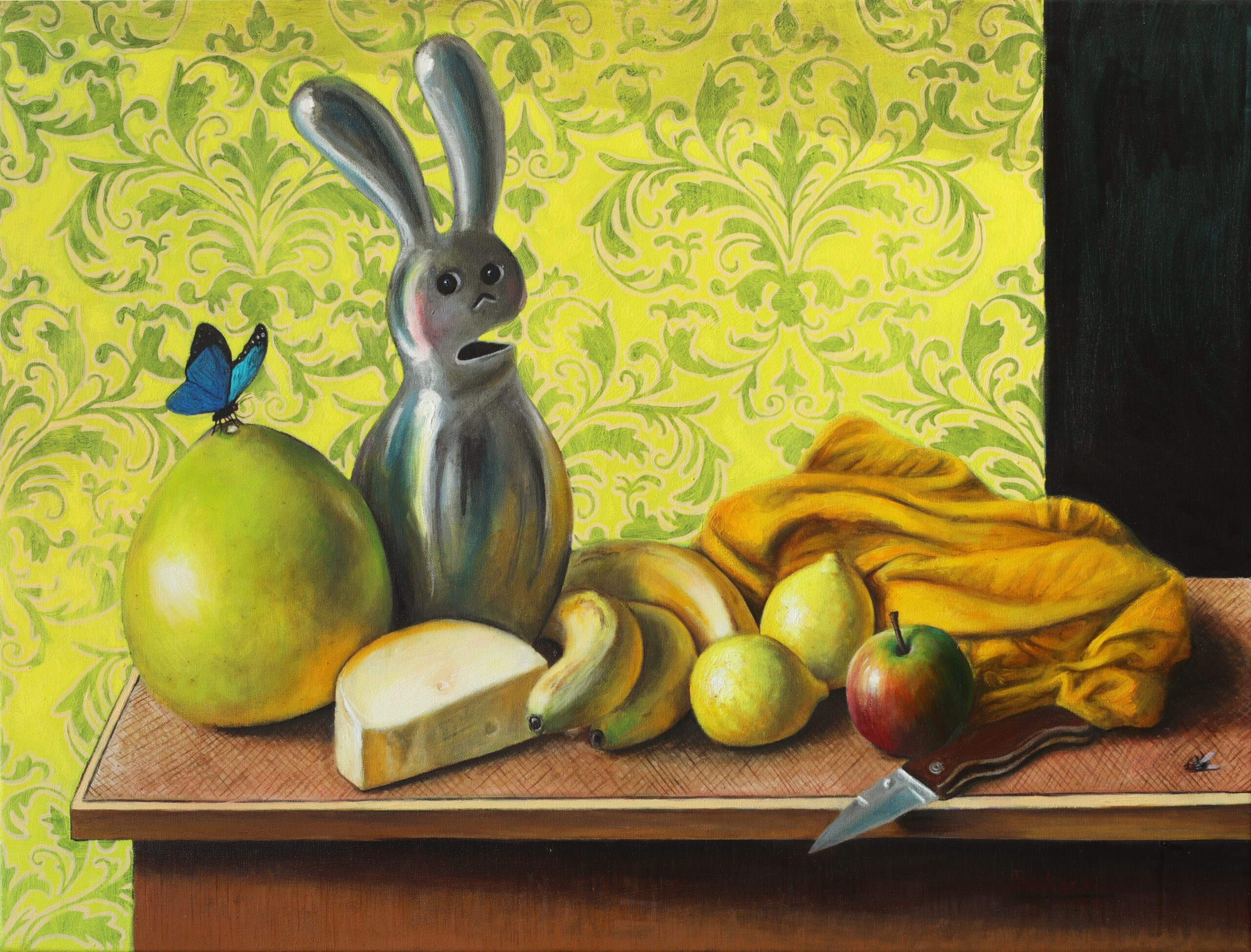 2020 Oil on canvas 23.6 x  31.9 inches (60 x 81 cm)   - Marc Straus Gallery