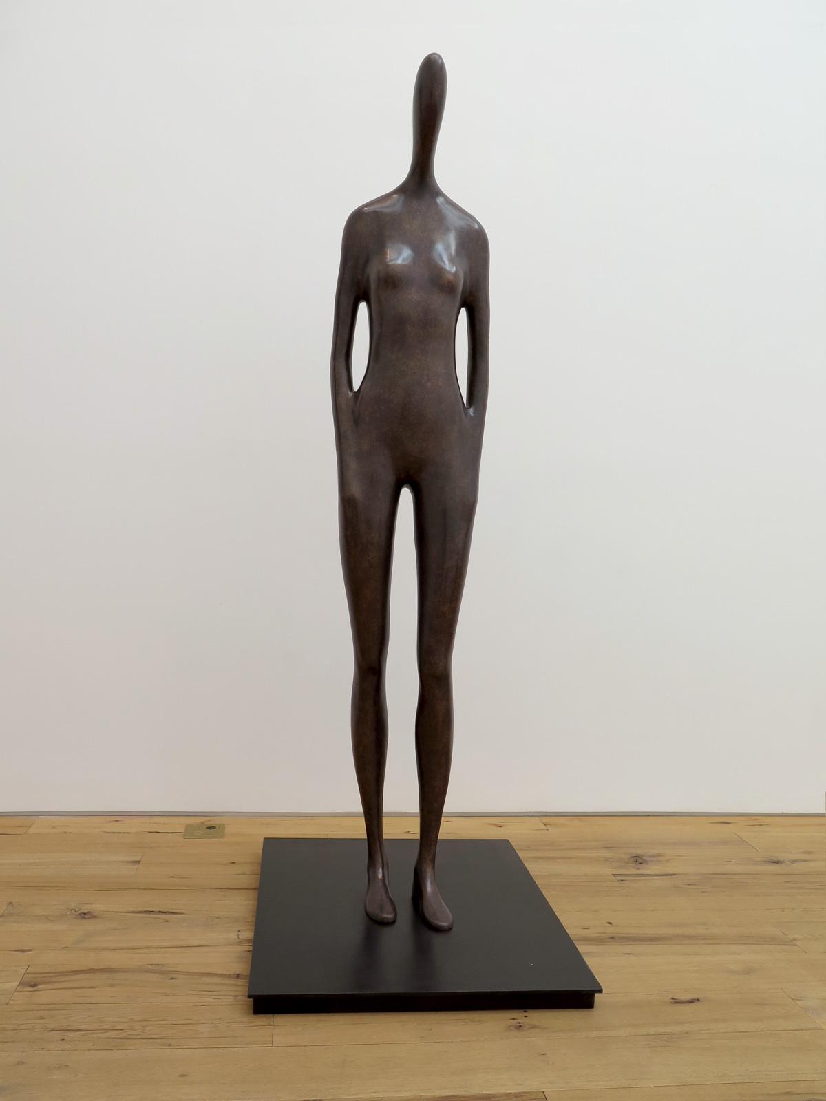 Emil Alzamora 2015 Bronze 85 x 12 x 17 inches / 216 x 31 x 43 cm 2015 Marc Straus Gallery