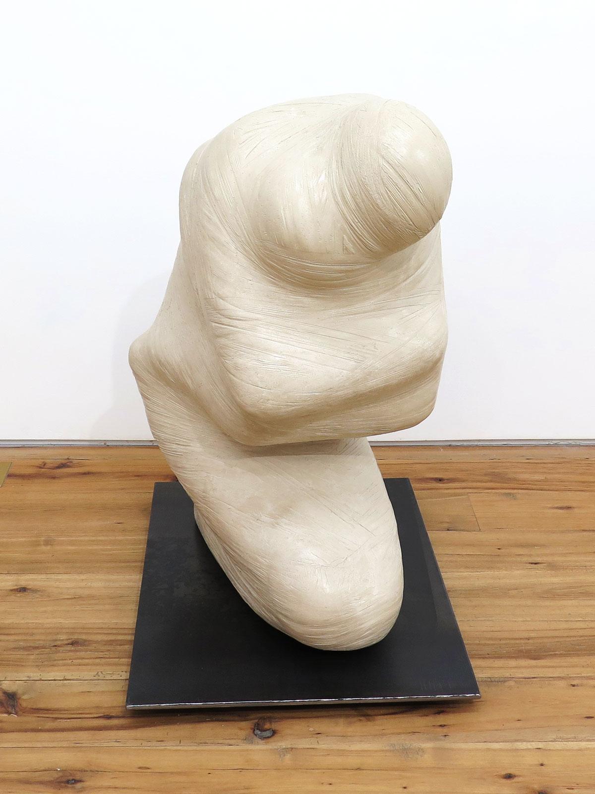 Emil Alzamora 2015 Gypsum 36 x 18 x 26 inches / 91 x 46 x 66 cm 2015 Marc Straus Gallery