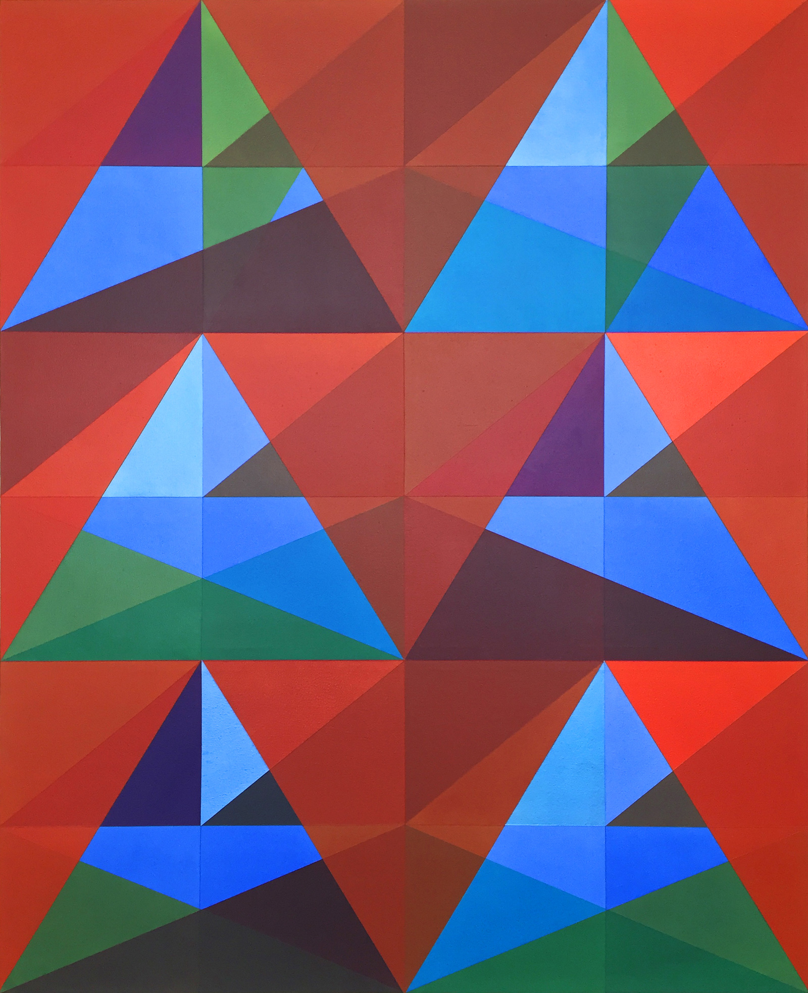 2016 Acrylic on Canvas 70 x 57 inches (177.8 x 144.8cm) - Marc Straus Gallery