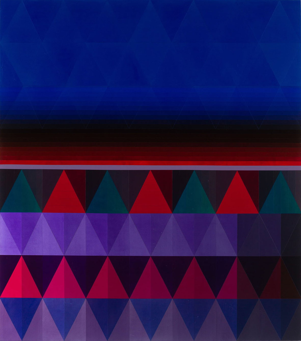 2016 Acrylic On Canvas 96 x 84 inches - Marc Straus Gallery