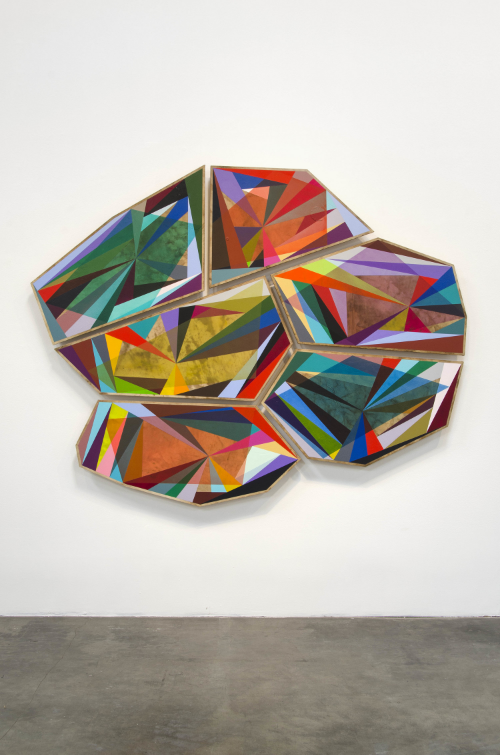 2013 Birch panel, graphite, acrylic and oil paint 68 x 87 x 2.5 inches / 172.7 x 221 x 6.4 cm - Marc Straus Gallery