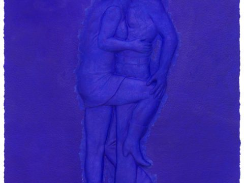 Art History Blue on Blue #3