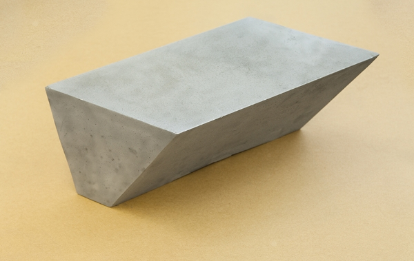 2004 Aluminum 8 x 9 1/2 x 25 inches / 21 x 24 x 64 cm - Marc Straus Gallery
