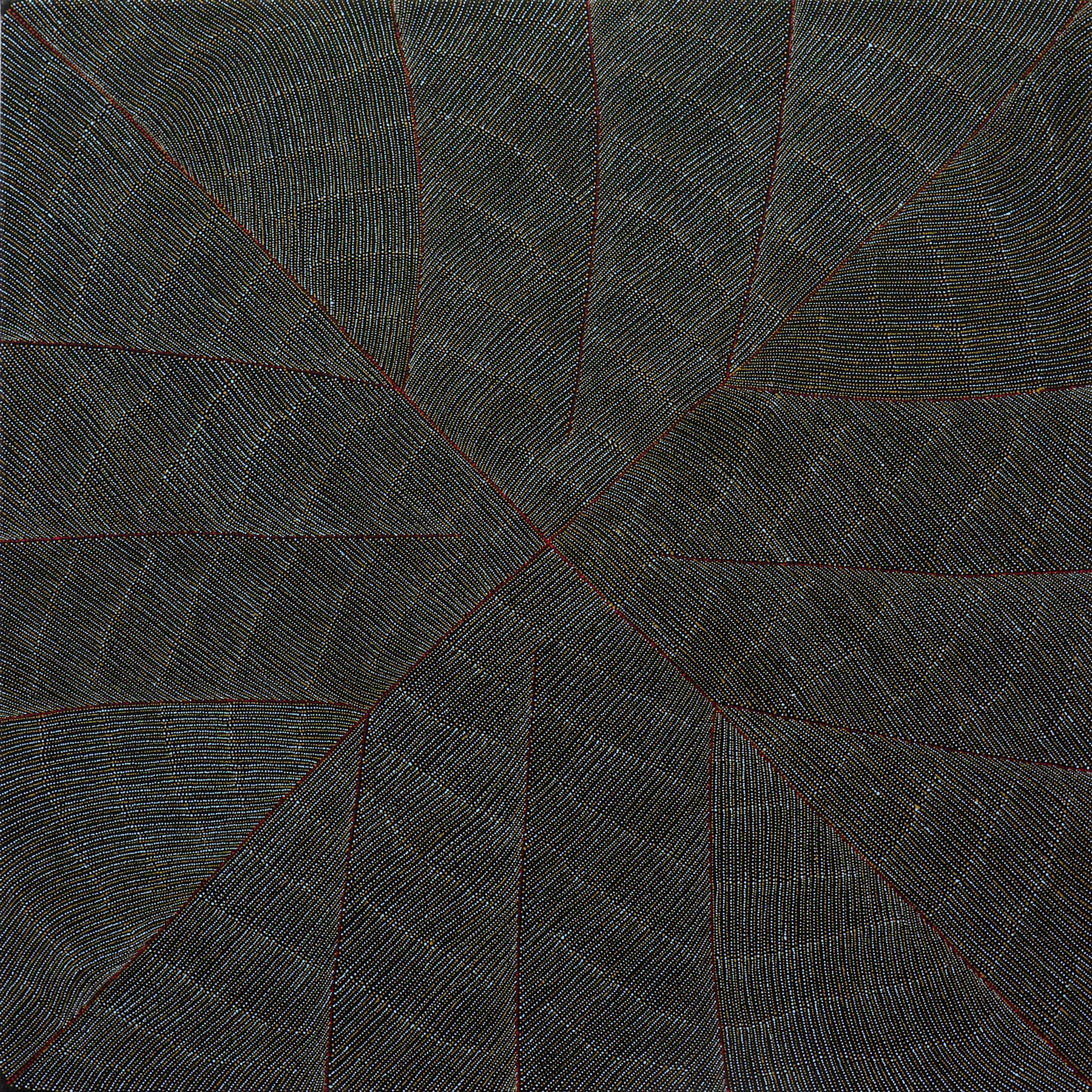 Acrylic on Linen 35 1/2 x 35 3/4 inches / 90 x 91 cm - Marc Straus Gallery