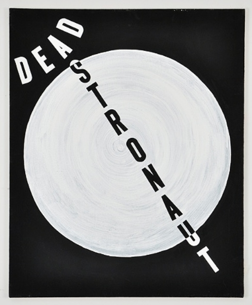 Not For All My Little Words Andrew Guenther Dead Astronaut 2012 Acrylic on canvas 32 x 26 inches  2014 Marc Straus Gallery