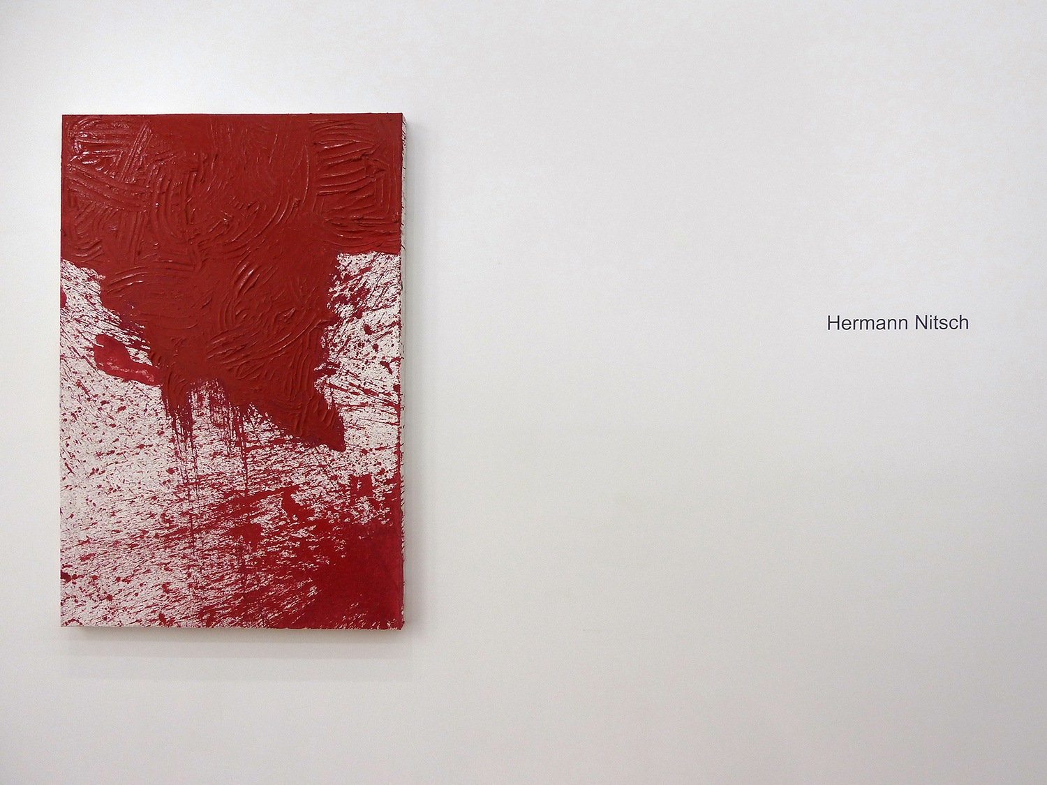 Hermann Nitsch  2015 Marc Straus Gallery