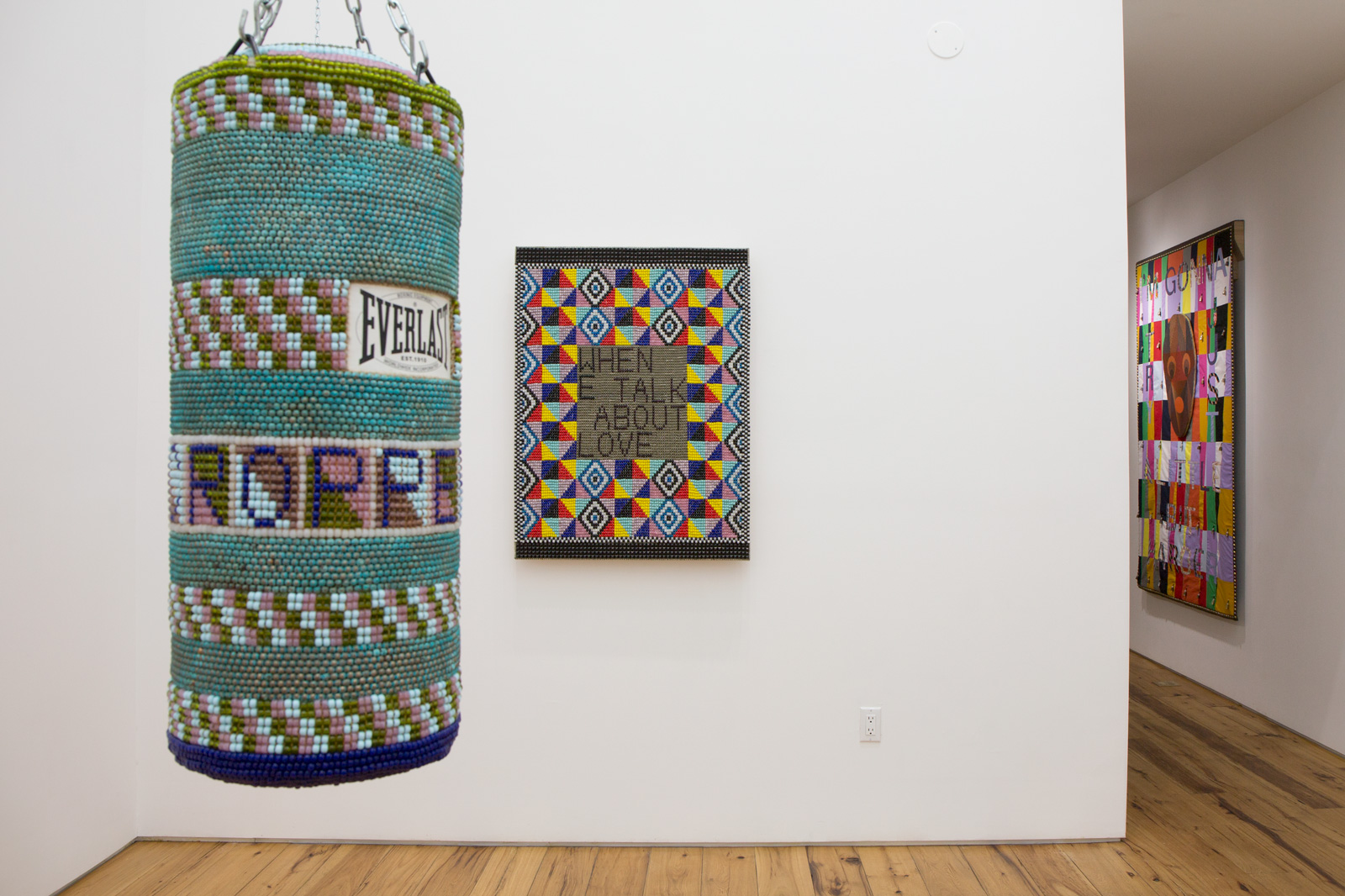 Jeffrey Gibson  2015 Marc Straus Gallery