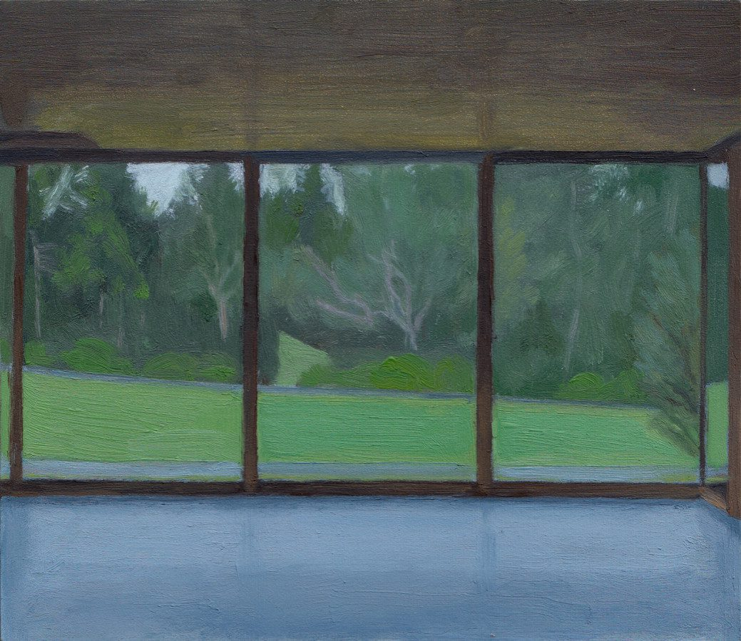 Museum Windows, Summer 2016 Oil on Panel 7 x 8 inches