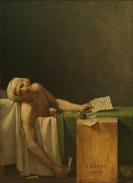 political-art-davids-death-of-marat