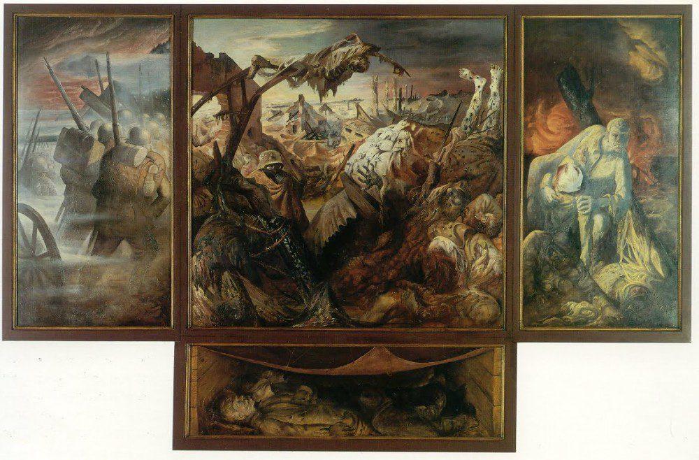 political-art-otto-dix-war