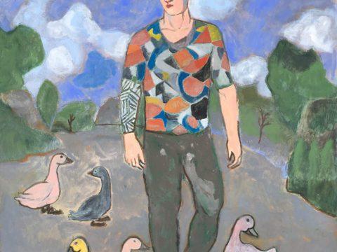 The Wayfarer With Ducks