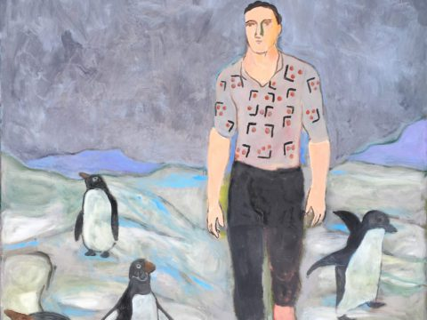 The Wayfarer with Penguins