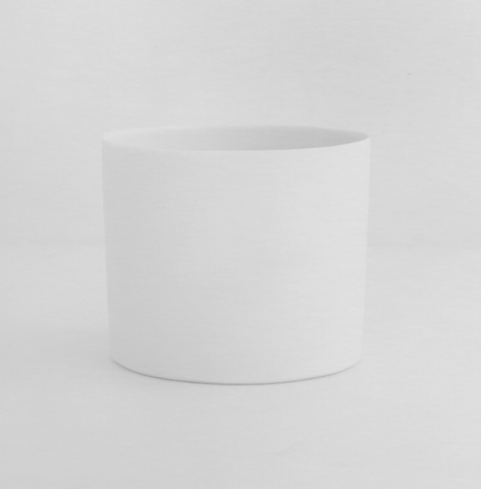 THE WHITE HEAT Cylinder No. 0 2015 Porcelain 3.75 x 3.5 inches / 9.6 x 8.8 cm 2017 Marc Straus Gallery