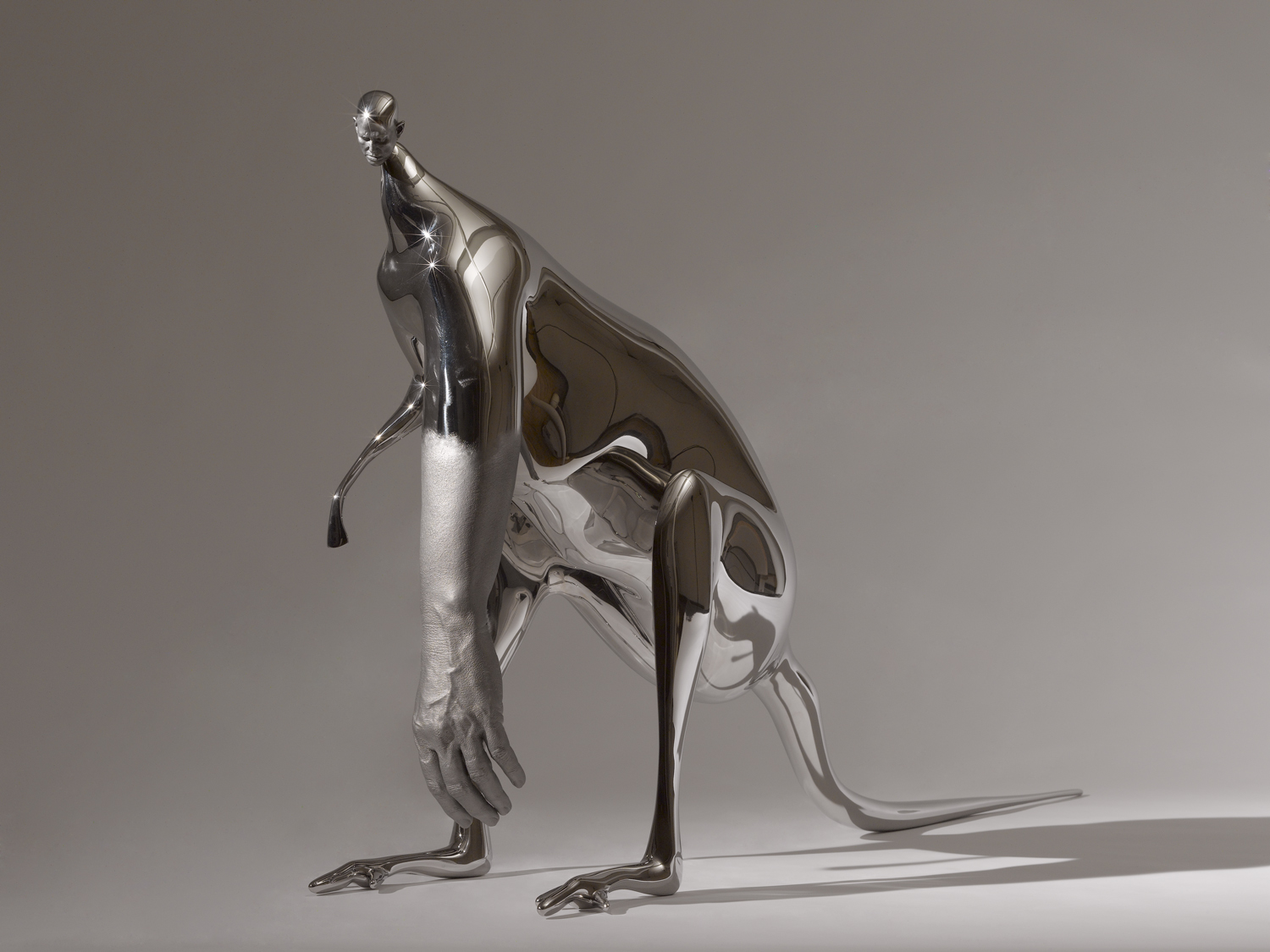 2007-12 Stainless steel Edition of 3 + 1 AP 24 x 44 3/8 x 10 7/8 in (60.96 x 112.71 x 27.62 cm) -  Marc Straus Gallery
