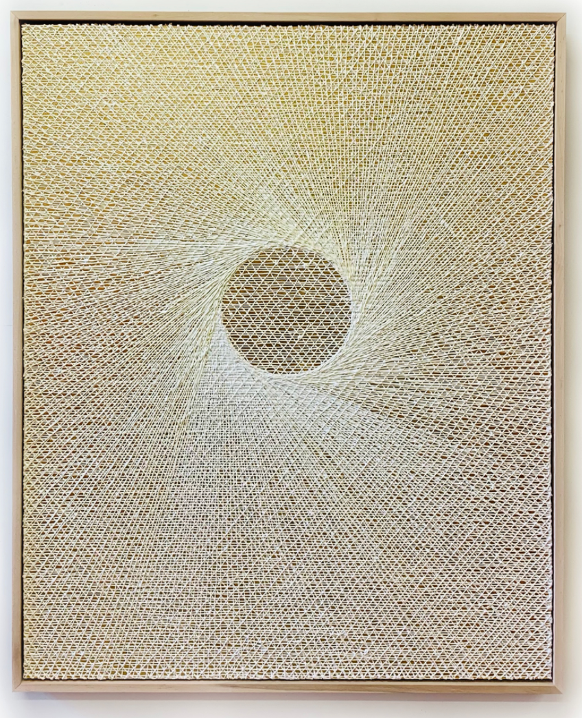 Michael Brown 2020 oil on 24k gold on canvas 62 x 50 x 3 in 2021 Marc Straus Gallery