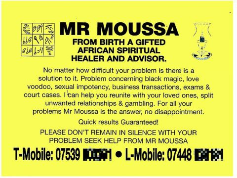 Mr. Moussa