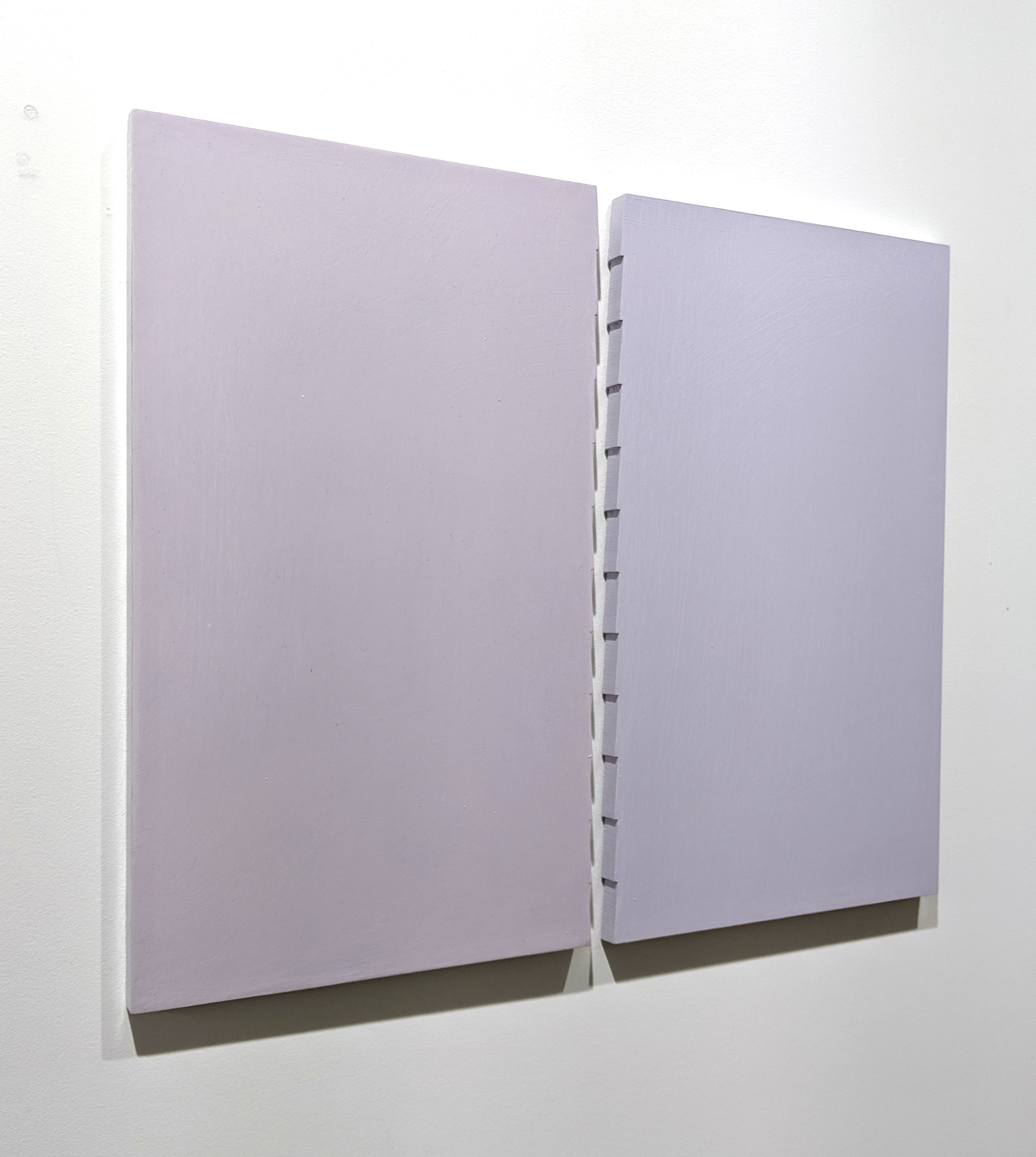 Acrylic on panel 14.63 x 14.63 inches, each panel (37.1 x 44.5 cm, each panel) - Marc Straus Gallery