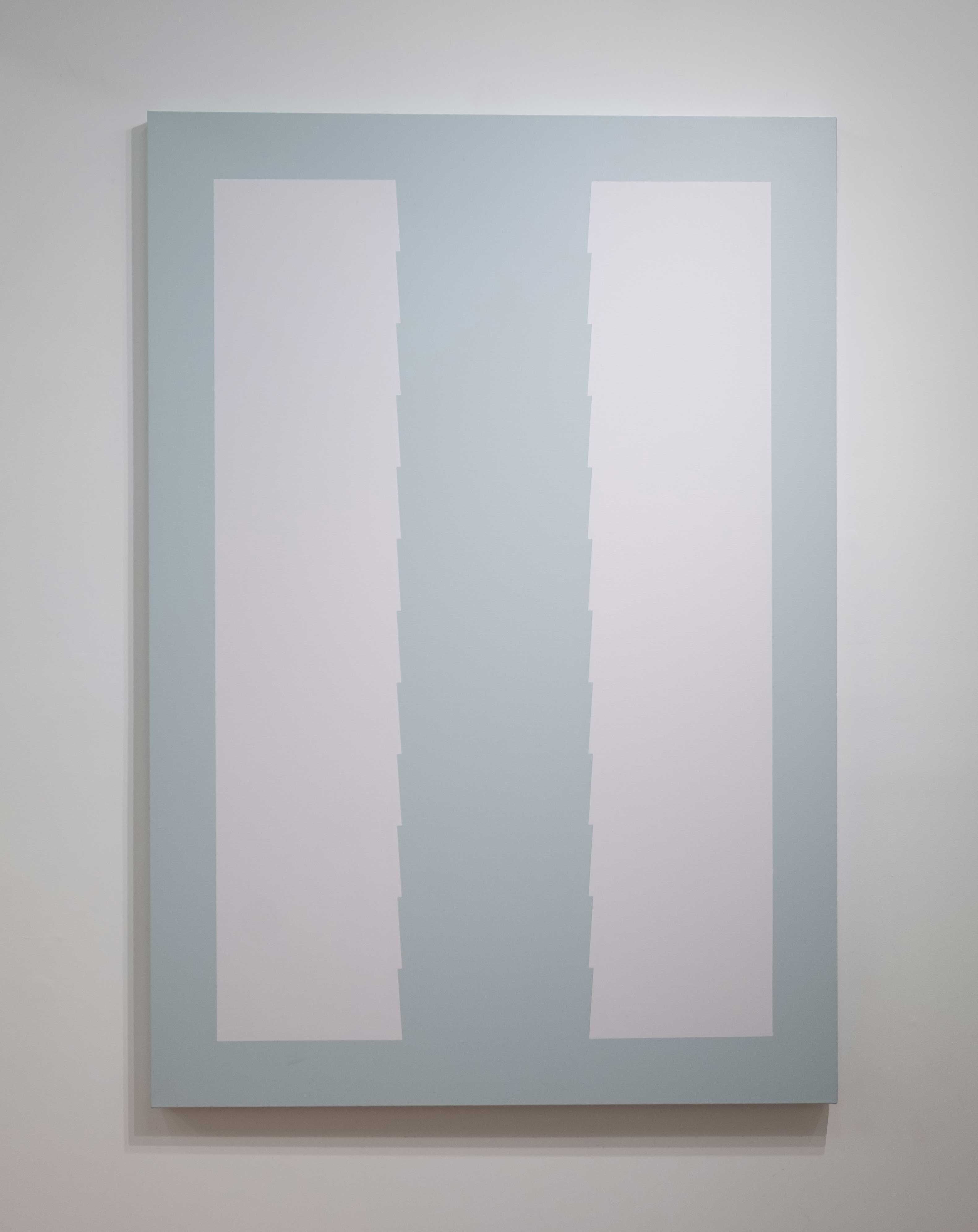 Tess Jaray 2017 Acrylic on cotton duck 70.9 x 49.3 inches (180 x 125.1 cm) 2019 Marc Straus Gallery