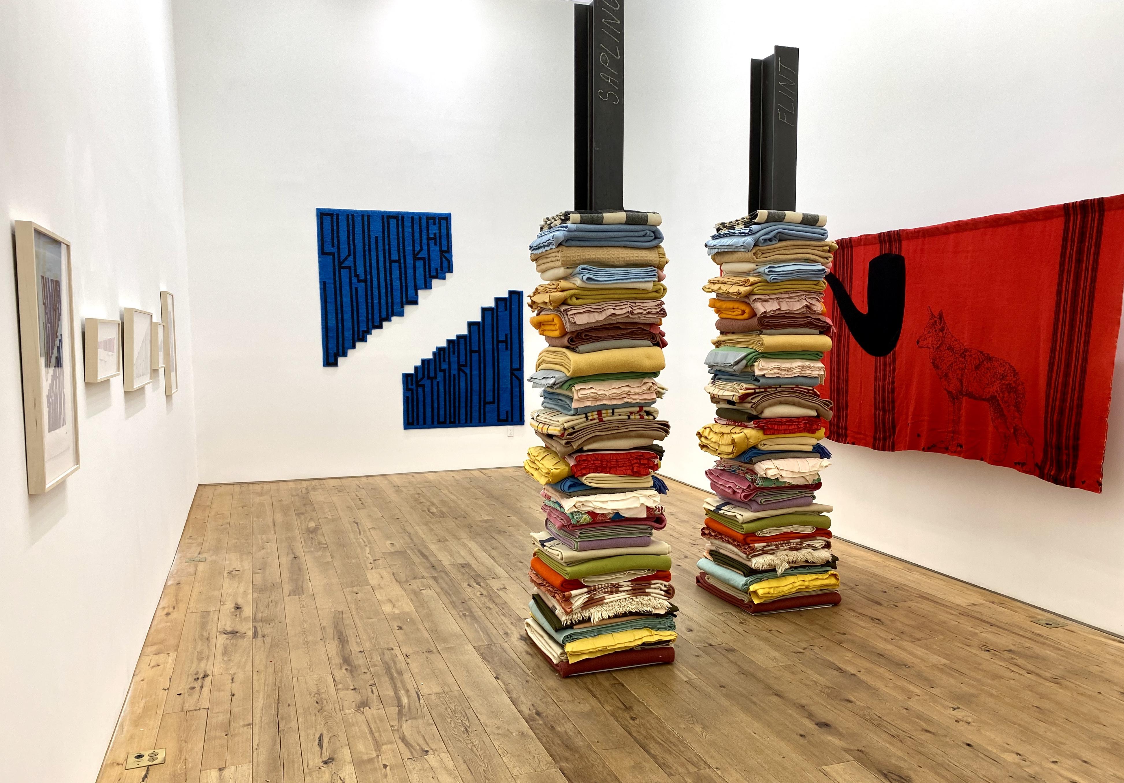 Turtle Island – Marie Watt  2020 Marc Straus Gallery