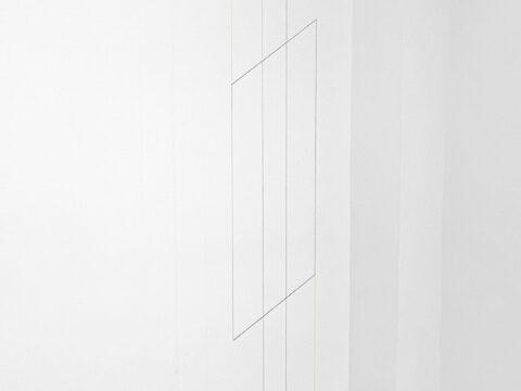 Line Sculpture (column) #8