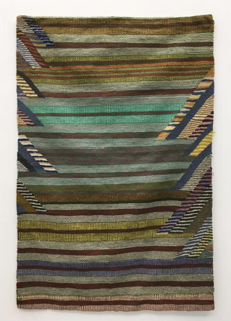 The Pattern of Patience Teresa Lanceta 2003 Wool and cotton. 70.9 x 48.8 in (180 x 124 cm). 2021 Marc Straus Gallery
