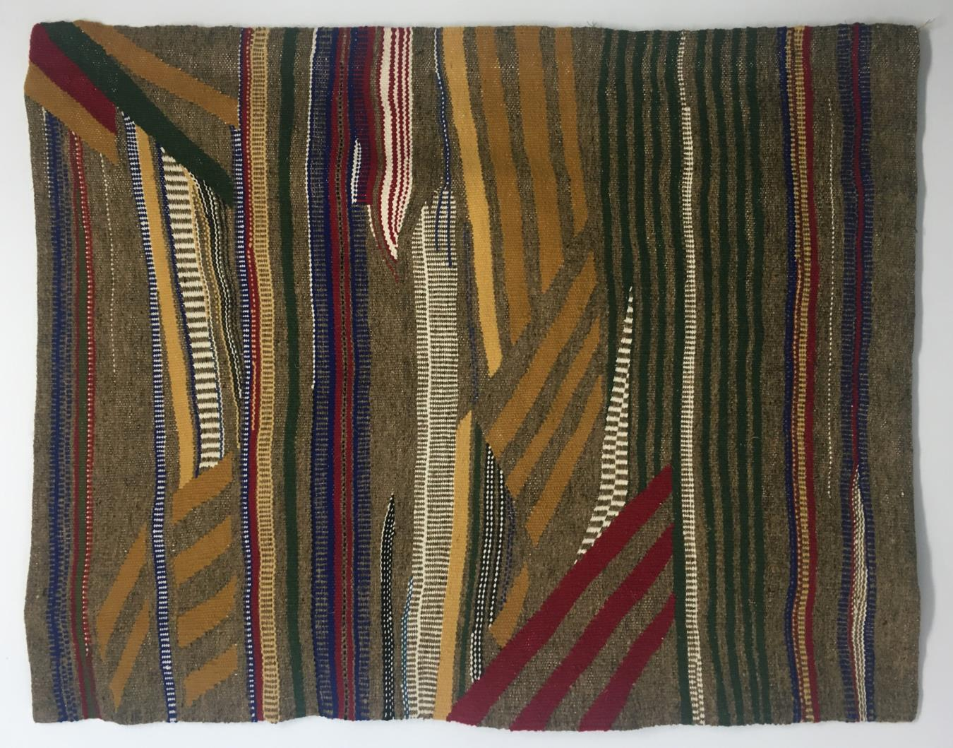 The Pattern of Patience Teresa Lanceta 2000 Cotton, wool and taffeta. 53.9 x 66.9 in (137 x 170 cm). 2021 Marc Straus Gallery