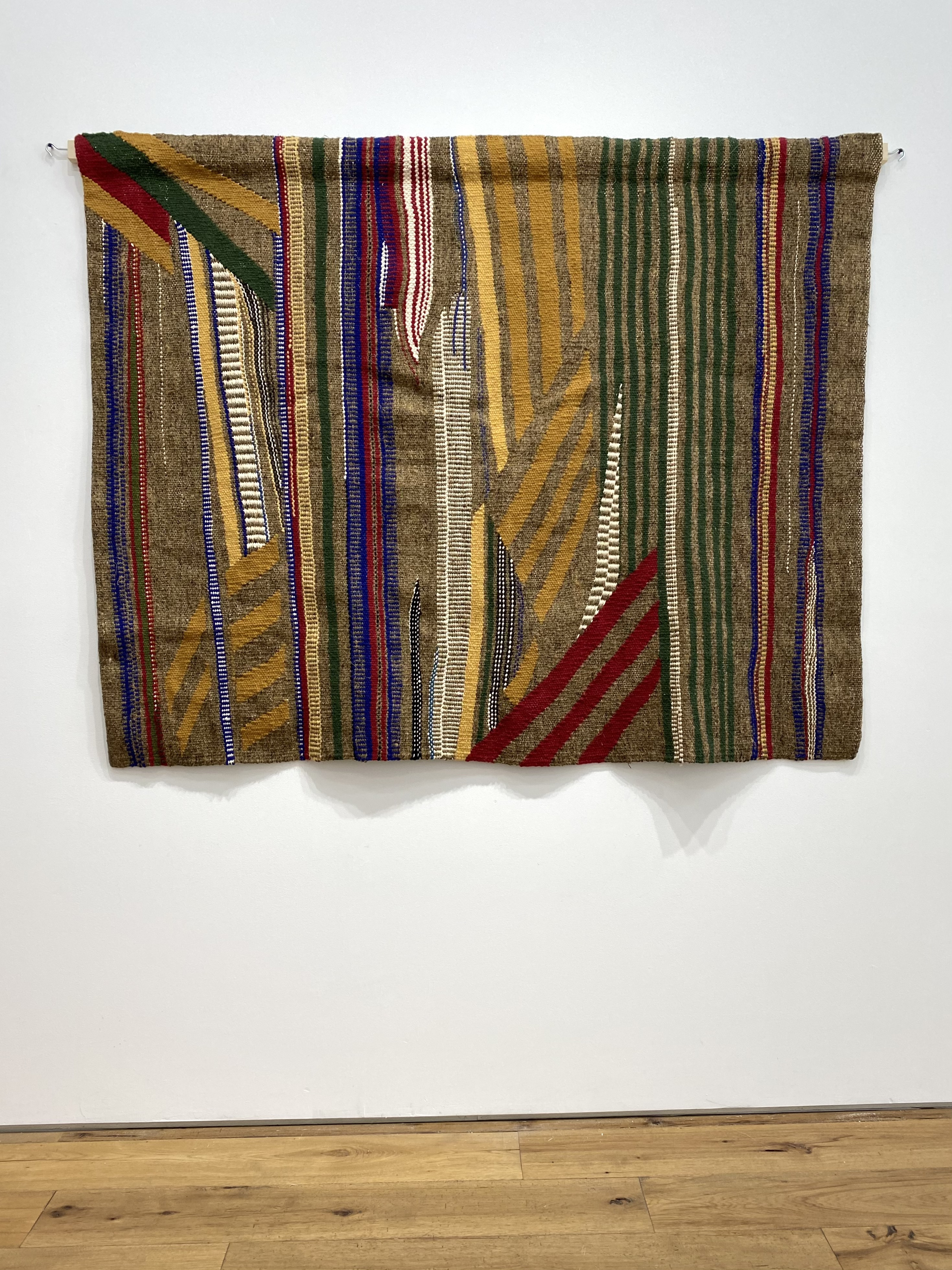 The Pattern of Patience  2021 Marc Straus Gallery